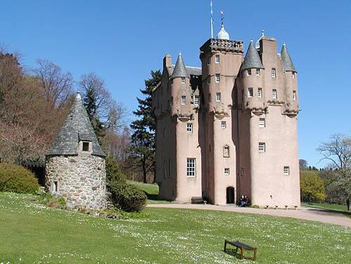 El Castillo Craigievar, en Escocia