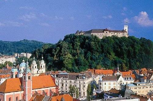 El Castillo de Luibliana, en Eslovenia