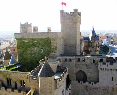 El Castillo de Olite, joya de Navarra