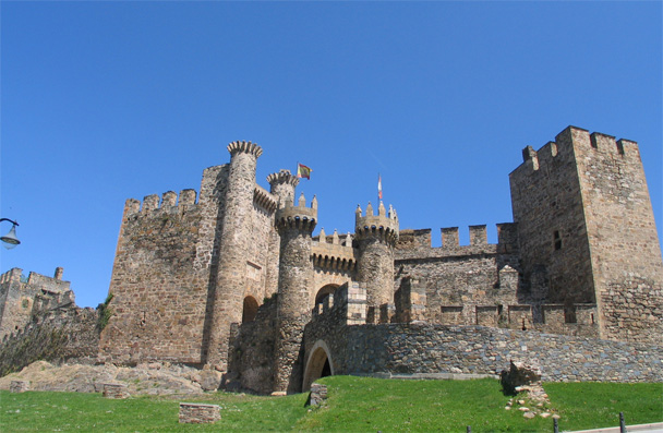 El castillo de Ponferrada, ruta templaria