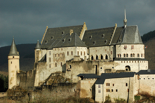 El Castillo de Vianden, en Luxemburgo