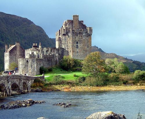 Eilean Donan, el castillo escocés de Highlander