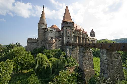 El imponente Castillo Hunyad