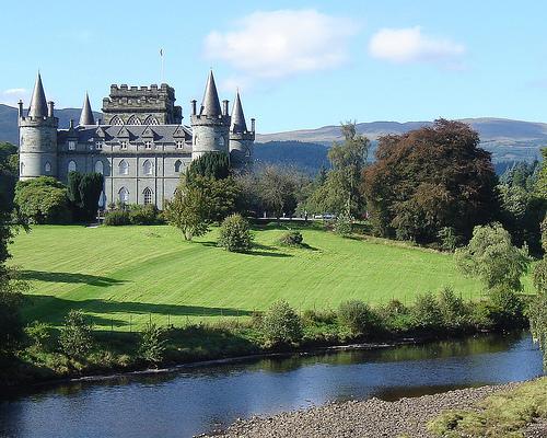 Inveraray, un imponente castillo escocés