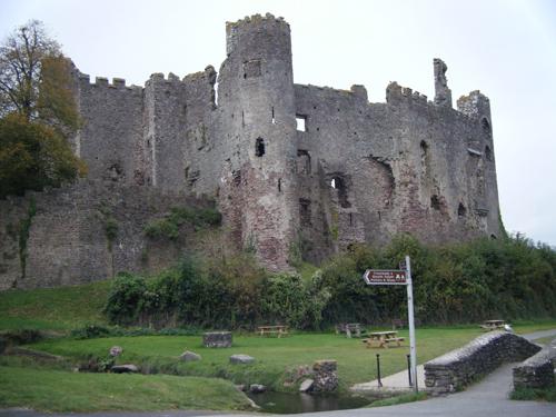 Castillo de Laugharne