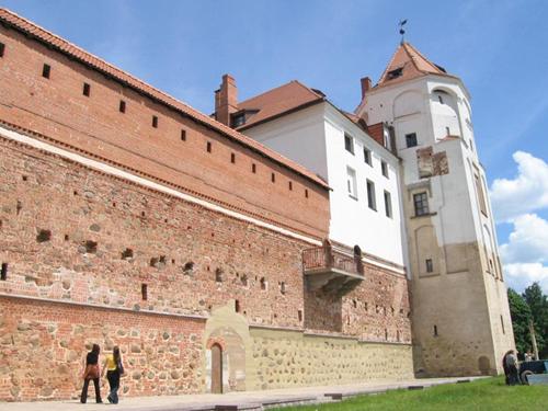 Complejo Castillo Mir en Bielorrusia