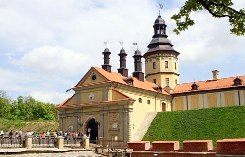 El Castillo Nesvizh, en Bielorrusia