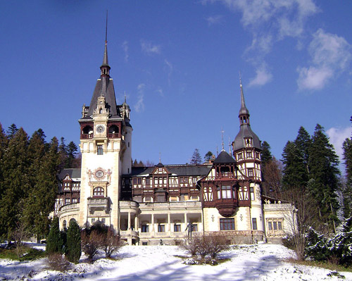 El Castillo Peles, primer castillo europeo con electricidad