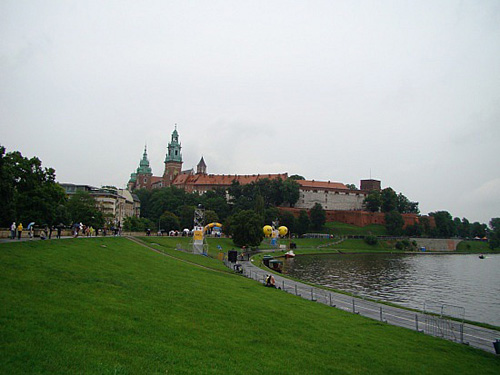 castillo real de cracovia