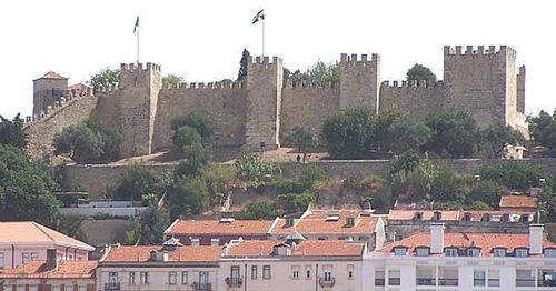 El Castillo de San Jorge, en Lisboa