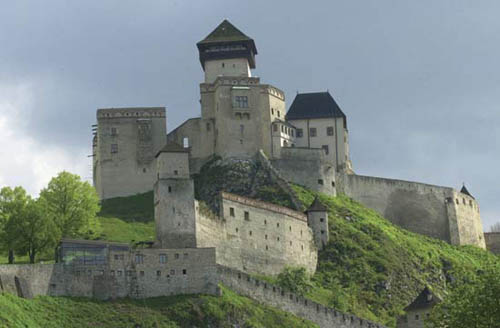 El Castillo Trencin, en la frontera eslovaca