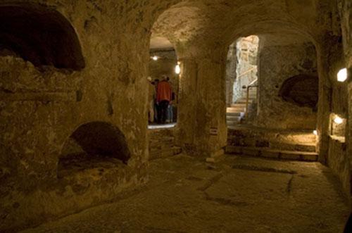 Catacumbas de San Pablo, en Malta