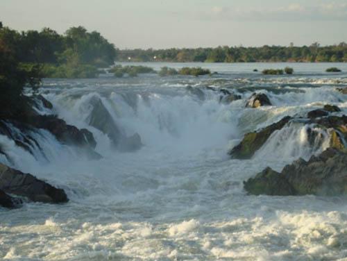 Khone Phapheng, una cascada en Laos