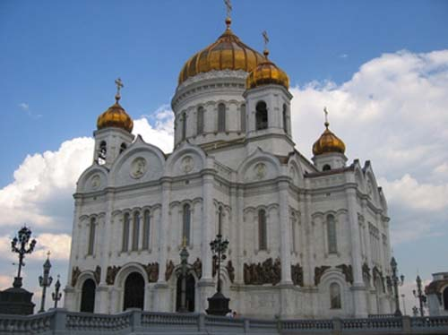 La Catedral de Cristo Salvador, en Moscú