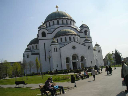 La Catedral de San Sava, cita religiosa en Belgrado