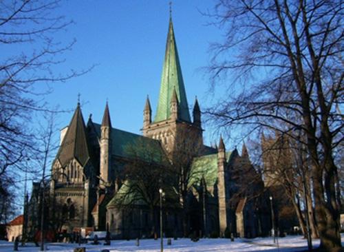 catedral nidaros en Noruega