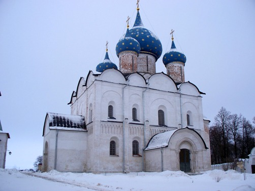Los monumentos blancos de Rusia