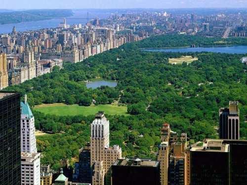 Central Park, naturaleza en Nueva York