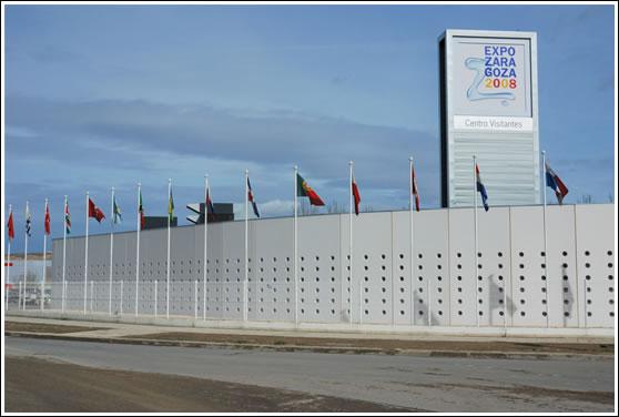 Un dia en la Expo Zaragoza 2008