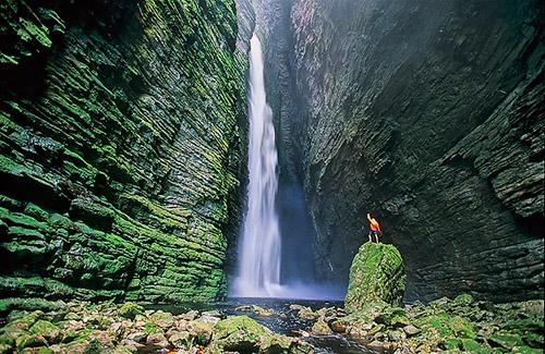 Eco turismo en el Parque Chapada Diamantina, Brasil
