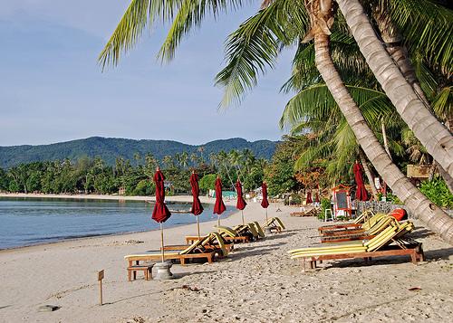 Chanweng Beach en Koh Samui