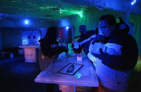 Bar de hielo, viña del mar, chile