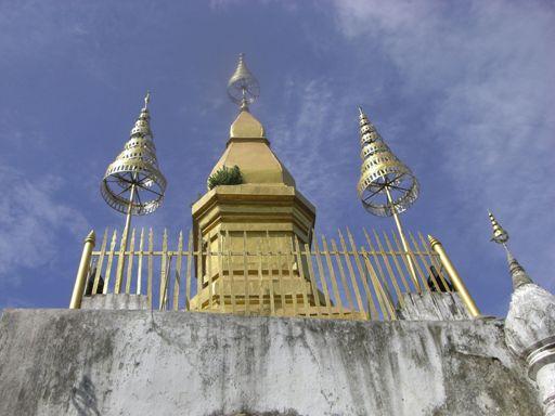 La Gran Estupa Sagrada de Laos