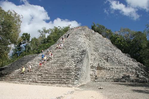Coba, ruinas mayas en Yucatán