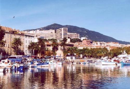 Ajaccio, capital de Córcega, Francia, Mediterráneo