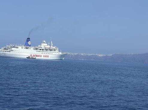 Crucero en Grecia
