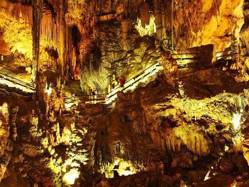 La cueva de Nerja, en Málaga