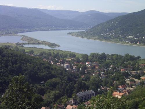 La curva del Danubio en Budapest