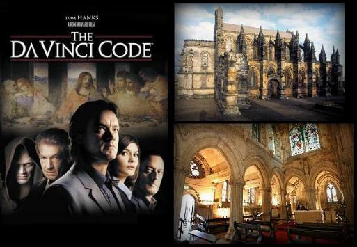 Capilla de Rosslyn en El Código Da Vinci