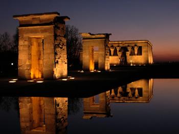 Madrid y el templo debod egipto en el corazon de espa a - La casa del puzzle madrid ...