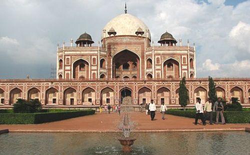 Mausoleo de Humayun, Delhi, India