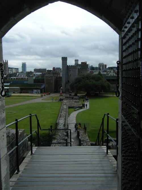 Cardiff desde su castillo