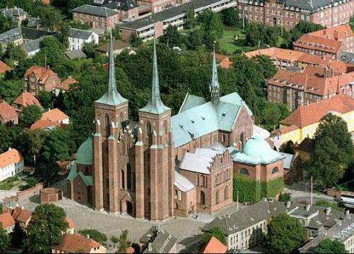 Roskilde, ciudad patrimonio en Dinamarca
