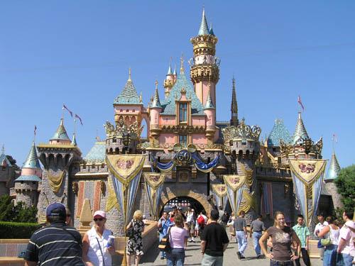 disneylandia castillo princesa