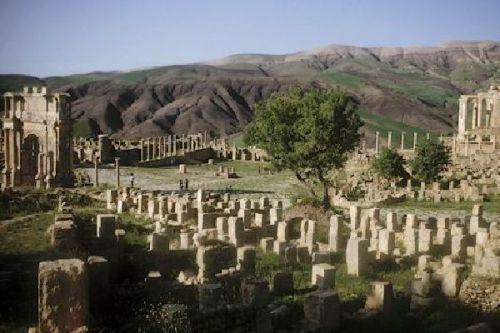 Djémila, antigua ciudad romana de Argelia