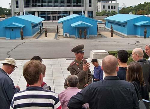 Visitar la Zona Desmilitarizada entre las dos Coreas