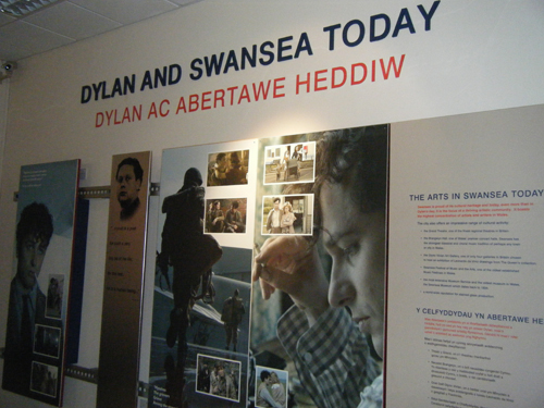 Dylan Thomas Centre. The Edge of love