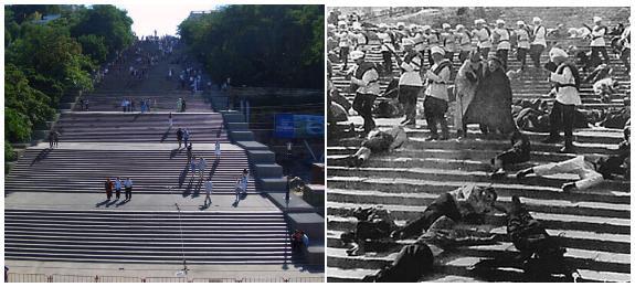 La Escalera Potemkin en Odessa