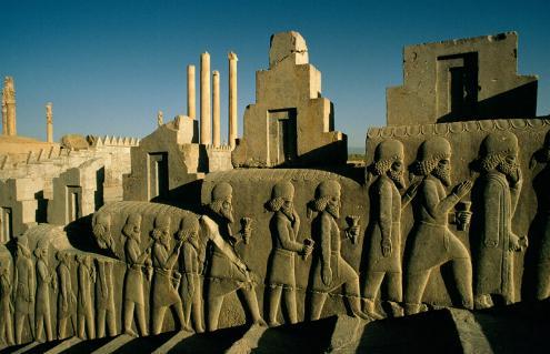 Las escalinatas de Persépolis