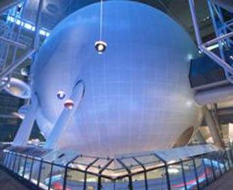 Esfera del planetario de Nueva York