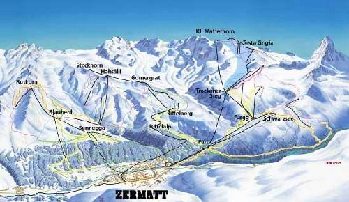 Temporada de esqui en los Alpes, Zermatt