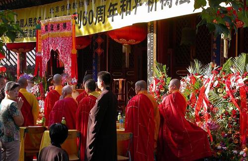 El Festival del Espíritu Hambriento, en China