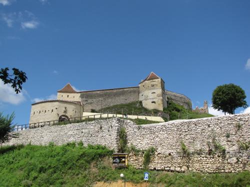 La Fortaleza y ciudadela Rasnov, en Transilvania