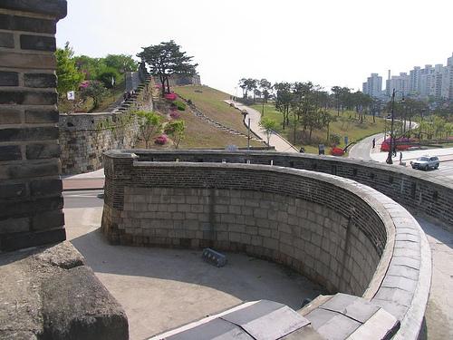 La Fortaleza Suwon Hwaseong, en Corea del Sur