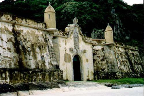 Fortaleza en Ilha do Mel