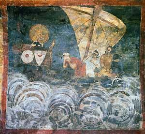 Fresco de la iglesia de Boyana